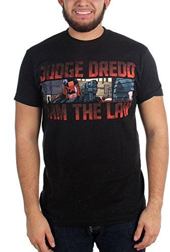 Dredd Le Judge Ad 2000 Suis T Je Hommes Black Pour Loi shirt De 1E6Z0q