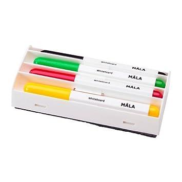 Rotuladores Ikea Mala para pizarra blanca, conjunto de 4 + ...