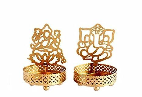 Amazon.com: India Shine Combo de Ganesh Laxmi Shadow ...