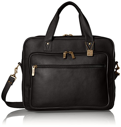 Claire Chase Barcelona Briefcase, Black ()