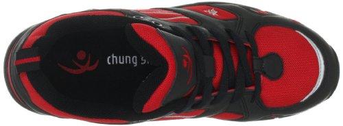 Chung Shi AuBioRiG Balance Step Promo 9100130, Scarpe da camminata uomo Rosso (Rot (Rot/Schwarz))