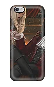 Heimie Iphone 6 Plus Hybrid Tpu Case Cover Silicon Bumper Vampire Fantasy Abstract Fantasy