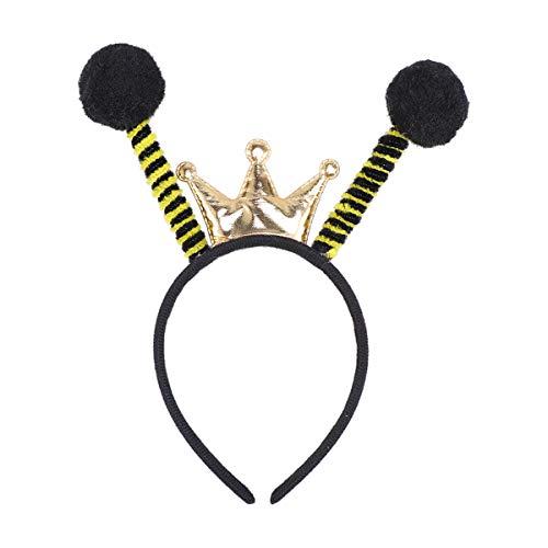 Amosfun Bee Headband Ladybug Headband Headwear Hair Hoop Party Favors Gift ()