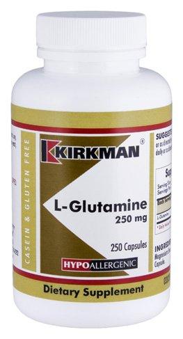 L-Glutamine 250 mg Capsules - Hypo