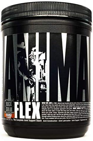 Universal Nutrition Animal Flex Gelenkschutz Sehen Bänder Gelenke Muskelaufbau 381g (Orange)