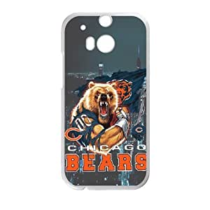 Imposing Full Panda Will Not Lose Chicago Bears Htc One M8 Case Cover Shell (Laser Technology)