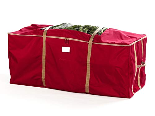 Covermates - Holiday Tree Storage Bag - Fits up to 7.5 Foot Tree - 3 Year Warranty - Red
