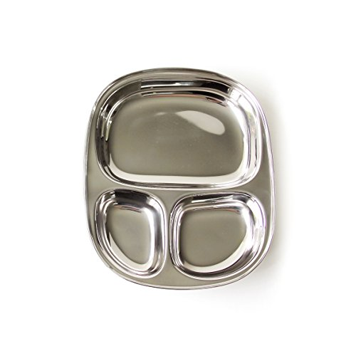 ECOlunchbox Kid's Tray - Divided Stainless Steel Tray
