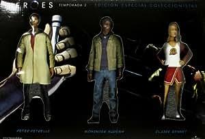 Pack Héroes (2ª temporada) Collectors Edition [5 figuras] [DVD]
