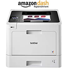 Brother HL-L8260CDW Business Color Laser Printer, Duplex Printing, Flexible Wireless Networking, Mobile Device Printing, Advanced Security Features – Amazon Dash Replenishment Enabled