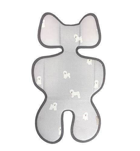 Momnoko 3D Air Mesh Cool Liner for Stroller & Car Seat (Puppy ()