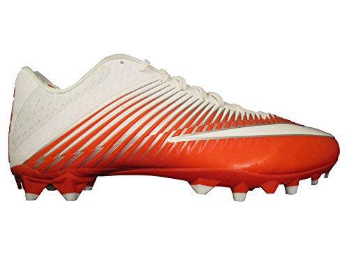 Nike Herren Vapor Speed Low TD geformte Fußballschuh Orange / Weiß / Silber