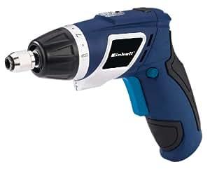 Einhell BT-SD 3,6 Li/1 - Atornillador (alojamiento para herramienta, portaherramientas hexagonal, casquillo de cierre mecánico, incluye 4 puntas) color azul