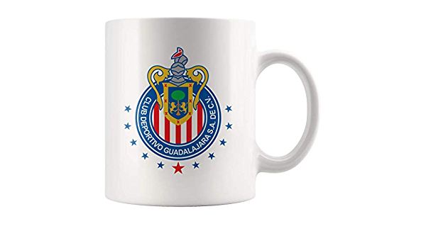 Chivas Ralladas del Guadalajara Mexican Soccer Futbol team Official Glass Beer Mug 10oz// 300ml