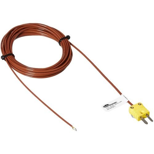 Cooper Atkins Type K Thermocouple Type K Bare Tip Air Probe, 15 Feet -- 3 per case.