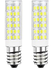 DiCUNO E14 LED Light Bulb 5W 50W Halogen Bulb Equivalent 220V 550 Lumen Non-dimmable Pack of 2