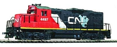 Locomotive Low Nose (Walthers Trainline EMD HO Scale GP9M Ready-to-Run Canadian National)