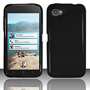 For HTC First M4 (AT&T) TPU Cover Case - Black TPU