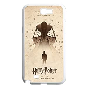 Deathly Hallows Samsung Galaxy N2 7100 Cell Phone Case White Gift pjz003_3343955