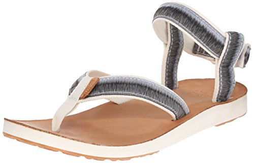 And Women's White Ombre Sports Original Outdoor Sandal Lifestyle white Leather Teva wfzUxw