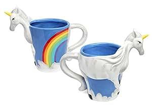 1 X Unicorn Figural Mug