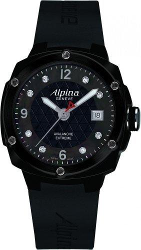 Alpina Avalanche Extremeブラックダイヤルブラックゴムメンズ時計240 mpbd3fbaec6 B005Z52EUE