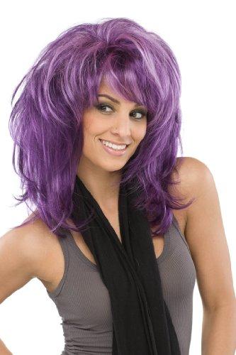 Sepia Costume Wigs (SEPIA Fantasy Wig (Grape))