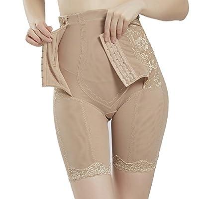 Queenral High Waist Seamless Thigh Slimmer For Women's Shapewear Butt Enhancer Control Panties Body Shaper