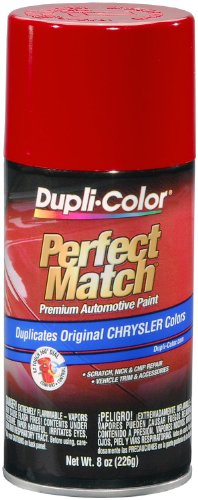 Dupli-Color BCC0419-6 PK (EBCC04197-6 PK) Flame Red Chrysler Perfect Match Automotive Paint - 8 oz. Aerosol, (Case of ()