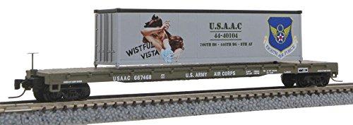 【誠実】 MicroTrains Z B00J3BPSEA 60 Z 'フラットカー、W/コンテナWistful Vista Vista B00J3BPSEA, aline:76836419 --- a0267596.xsph.ru