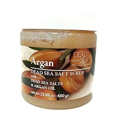 DEAD SEA COLLCECTION Argan Dead Sea Salt Scrub with Dead Sea Salts & Argan Oil by N/A