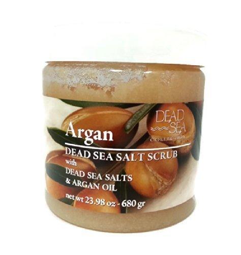 DEAD SEA COLLCECTION Argan Dead Sea Salt Scrub with Dead Sea Salts & Argan Oil by N/A - Dead Sea Collection