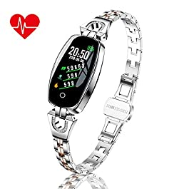 TMYIOYC Fitness Tracker, Smart Bracelet for Women, Activity Tracker Watch with Pedometer, Message No
