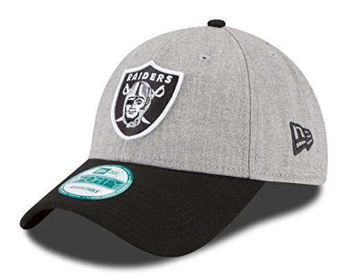 NFL Oakland Raiders The League Heather 9forty Adjustable Cap, Heather, One Size