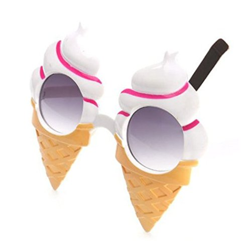 TOOGOO(R) Ice cream party Funny glasses for Fancy
