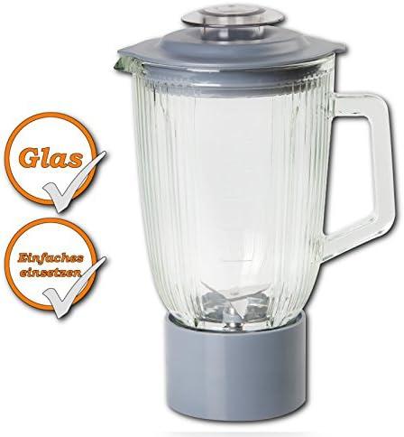 Jarra de cristal para robot de cocina Domo DO9072KR + DO9079KR: Amazon.es: Hogar