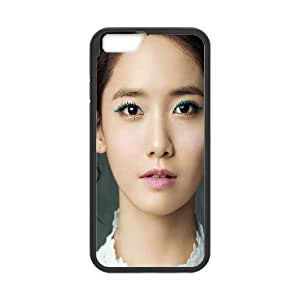 iPhone 6 Plus 5.5 Inch Cell Phone Case Black he69 yuna yoona snsd kpop girl cute music Vkkep