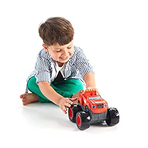 Nickelodeon Blaze and the Monster Machines Transforming Fire Truck Blaze - 41LrEFgxmOL - Fisher-Price Nickelodeon Blaze & the Monster Machines, Transforming Fire Truck Blaze