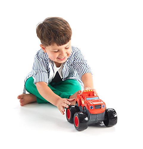 Fisher-Price Nickelodeon Blaze & the Monster Machines, Transforming Fire Truck Blaze Vehicle (Fire Monster Truck)