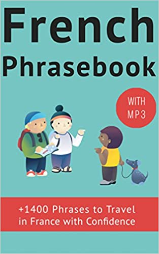French Phrase Book With Audio 1400 Common French