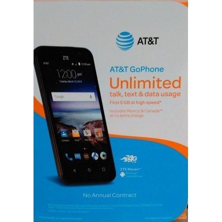 AT&T Kyocero Hydro Shore GoPhone Prepaid Smartphone