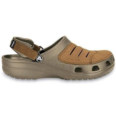 ff3b60f0676b Crocs - Yukon - Size 41-42 (M8) - khaki brown  Amazon.co.uk  Shoes   Bags