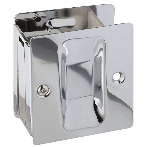 26-322 V1950 Pocket Door Pull in Chrome ()
