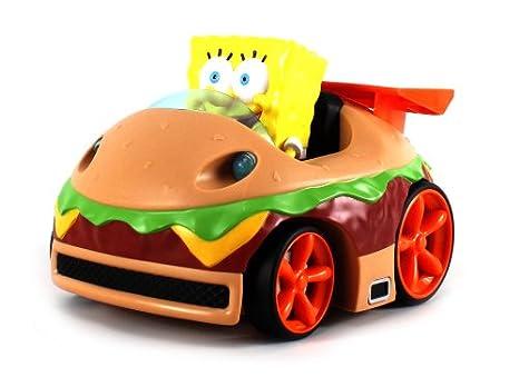 Amazon.c: Nickelodeon Spongebob Squarepants Krabby Patty Wagon ...