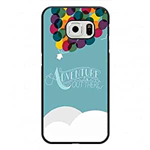 Adventure Is Out There Phone Case For Samsung Galaxy S6Edge Hard Case,Cartoon Phone Case MK100