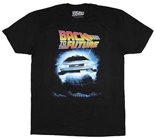 Back to The Future Shirt Men's Delorean Poster Tee