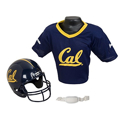 Franklin Sports NCAA California Golden Bears Helmet and Jersey Set, Youth, Multi-Color (Good Team Costumes)