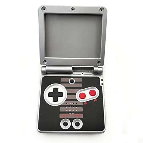 RGRS Replacement NES Edition Full Housing Shell Case Repair Parts Kit w/Lens & Screwdriver for Nintendo Gameboy Advance SP GBA SP Console...