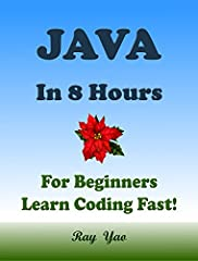 "About this bookThis Book Absolutely For Beginners:""Java in 8 Hours"" covers all essential Java language knowledge. You can learn complete primary skills of Java programming fast and easily.  The book includes more than 80 practical examples fo..."