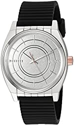 Nixon Men's 'Star Wars Phasma' Quartz Stainless Steel and Silicone Casual Watch, Color:Black (Model: A1076SW2446-00)